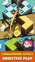 Screenshot 1: Cubie Jump - Tap Dash