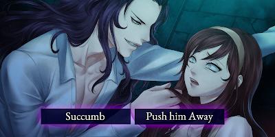 Screenshot 1: Moonlight Lovers : Beliath - dating sim / Vampire