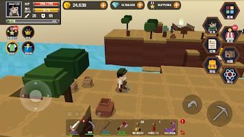 Screenshot 1: Pocket World: 探索一切未知的島