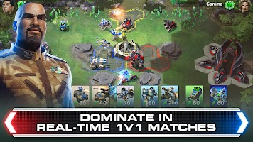 Screenshot 1: Command & Conquer: Rivals PVP