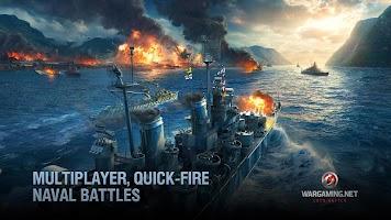 Screenshot 3: World of Warships Blitz: Gunship Action War Game