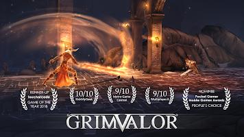 Screenshot 1: Grimvalor
