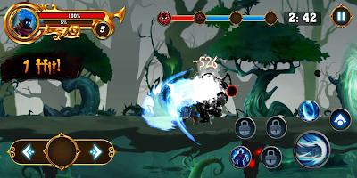 Screenshot 1: 火柴人之影:戰士之神