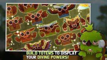 Screenshot 4: Marimo League : Be God, show Miracles on battles!