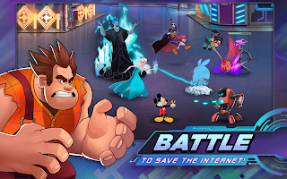 Screenshot 1: Disney Heroes: Battle Mode