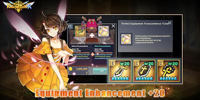 Screenshot 3: Fantasy War Tactics R