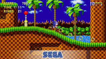 Screenshot 1: Sonic the Hedgehog