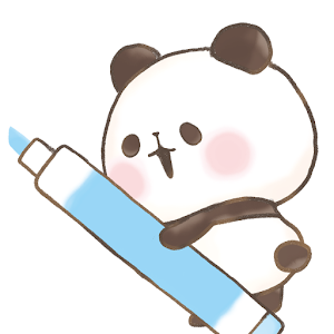 Icon: 메모장 모찌모찌 팬더