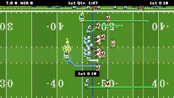 Screenshot 1: 復古橄欖球賽