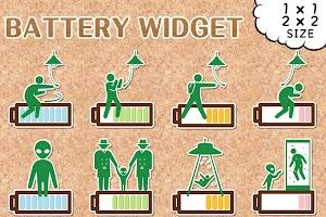 Screenshot 2: Mischief Battery Widget
