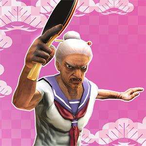 Icon: 老太婆學園桌球部