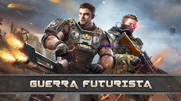 Screenshot 1: Z Day: Héroes de Guerra y Estrategia en MMO