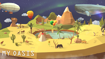 Screenshot 4: My Oasis - Tap Sky Island