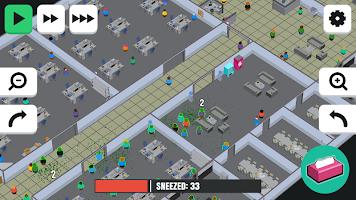 Screenshot 2: 噴嚏感染 3D