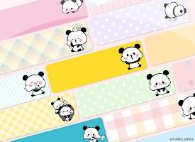 Screenshot 2: 메모장 Sticky Note Mochimochi Panda