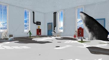Screenshot 1: 從北極小屋逃脫