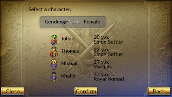 Screenshot 3: Romancing SaGa3