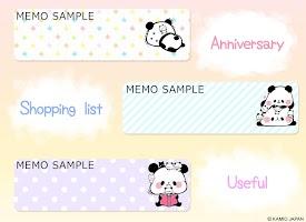 Screenshot 3: 麻糬熊貓 記事本小工具