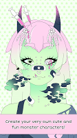 Screenshot 1: Monster Girl Maker