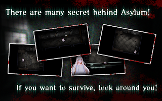 Screenshot 3: Asylum (Horror game)