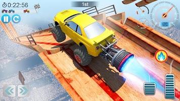 Screenshot 2: Mega Ramp V - Car Stunts