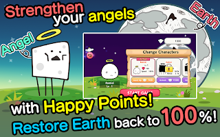 Screenshot 3: Angel Dash Hero!