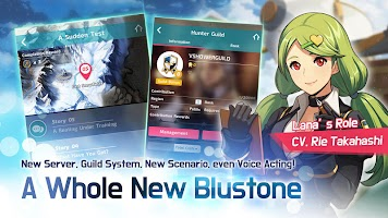 Screenshot 3: Blustone 2 - Anime Battle and ARPG Clicker Game