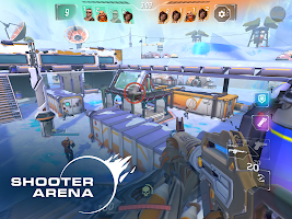 Screenshot 1: Rise: Shooter Arena
