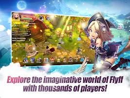 Screenshot 1: Flyff Legacy - Anime MMORPG