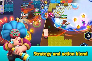Screenshot 4: Heroes Strike - 3v3 Moba Brawl Shooting