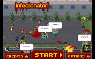 Screenshot 1: Infectonator