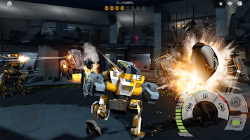 Screenshot 3: Mech Battle - Robots War Game