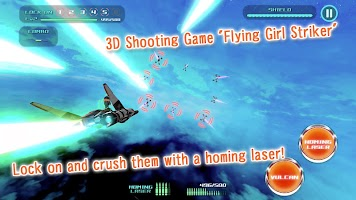 Screenshot 1: Flying Girl Striker