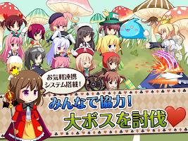 Screenshot 3: アリスクリッカー 超ハマる放置系ゲーム♪