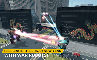 Screenshot 1: War Robots
