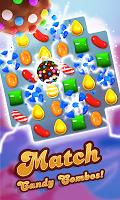 Screenshot 1: Candy Crush Saga