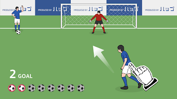 Screenshot 1: Overhead Kick