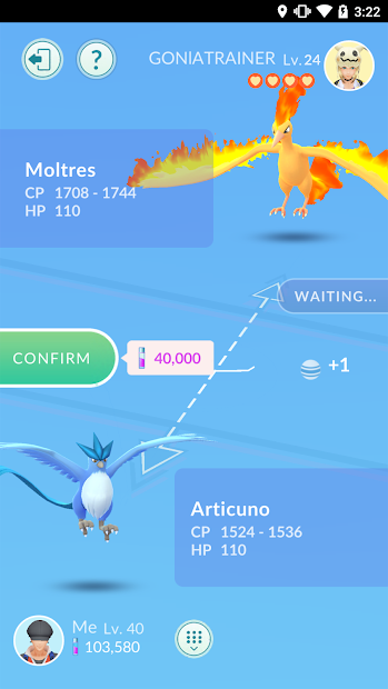 Screenshot 2: Pokémon GO/ Pokemon GO