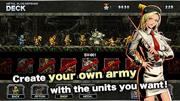 Screenshot 3: METAL SLUG DEFENSE