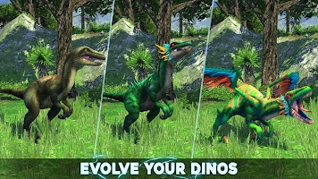 Screenshot 1: Dino Tamers - Jurassic Riding MMO