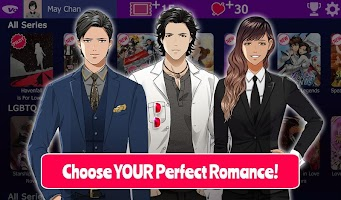Screenshot 1: Lovestruck Choose Your Romance