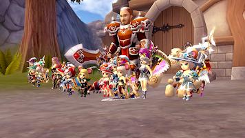 Screenshot 4: 월드 오브 프란디스 (오토 없는 진짜 MMORPG)
