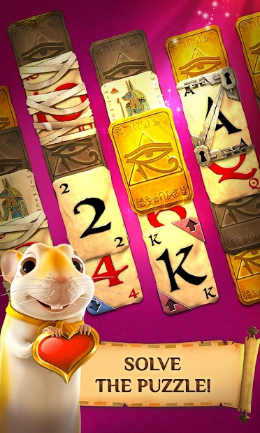 Screenshot 2: Pyramid Solitaire Saga