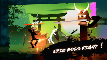 Screenshot 1: Stickman Weapon Master