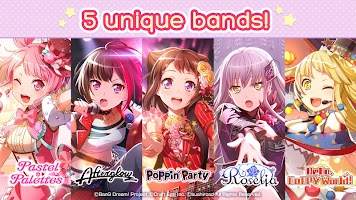 Screenshot 4: BanG Dream! Girls Band Party! (英文版)