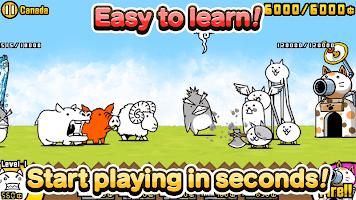 Screenshot 2: The Battle Cats | English