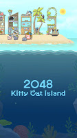 Screenshot 3: 2048 Kitty Cat Island