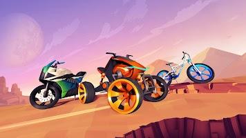Screenshot 1: Gravity Rider Zero