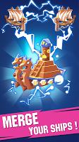 Screenshot 2: Ship Merger - Idle Tycoon Game