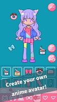 Screenshot 3: Cute Girl Avatar Maker - Cute Avatar Creator Game